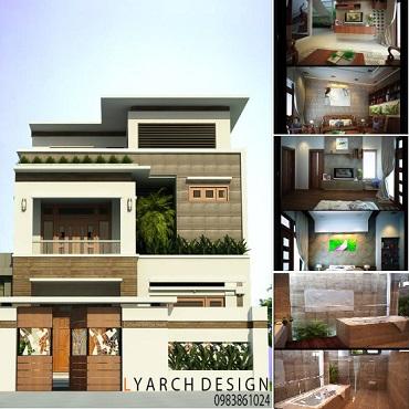 Thiết kế kiến trúc nhà đẹp
