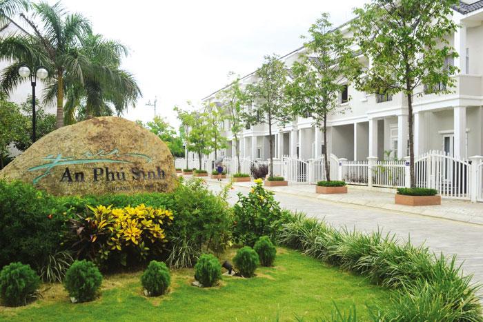 Thiết kế thi công nhà tại An Phú Sinh - tp Quảng Ngãi