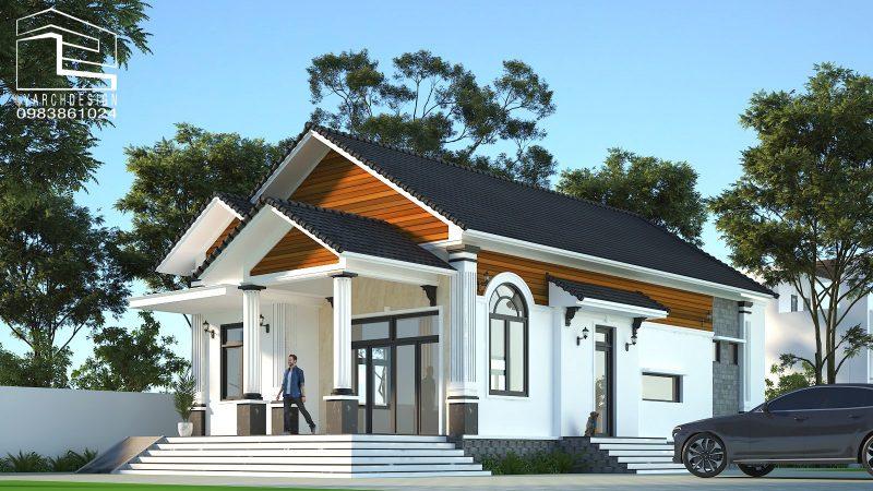 thiết kế biệt thự nhà vườn quảng ngãi
