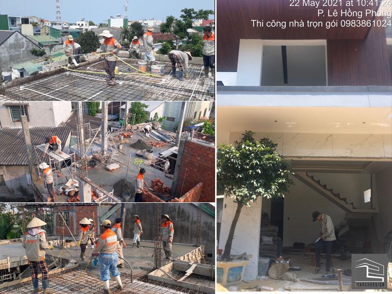 Nhà phố 2 tầng hiện đại 222m2 Nguyễn Cư Trinh TP. Quảng Ngãi