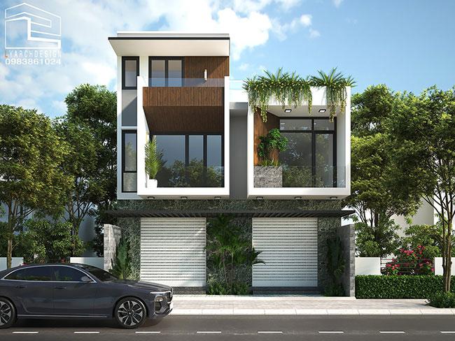 Nhà phố KDC 577 465m2 Quảng Ngãi