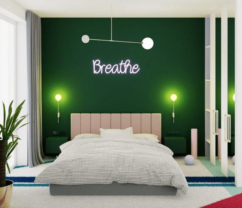 Mẫu thiết kế nội thất phòng khách màu kem