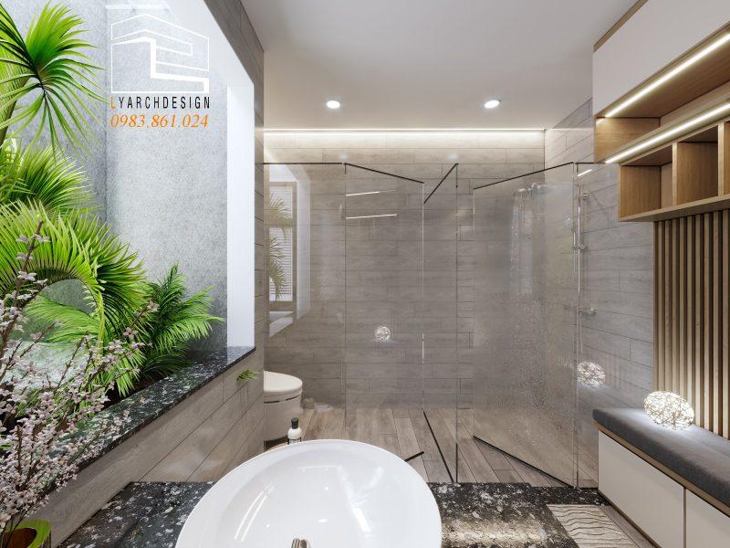 Buồn tắm nhà phố La Hà
