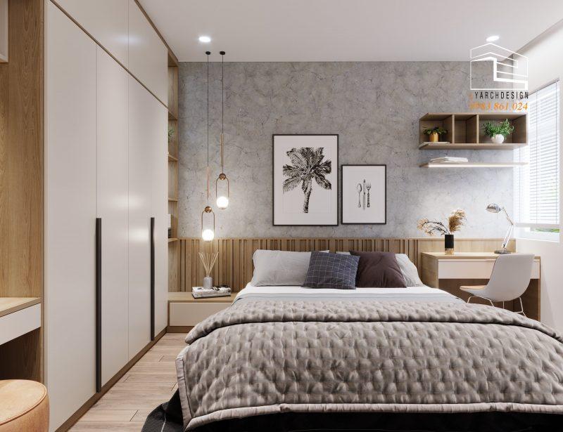 Phòng ngủ nhà phố La Hà