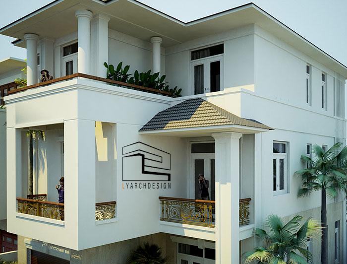 Công trình biết thự Phạm Văn Đồng