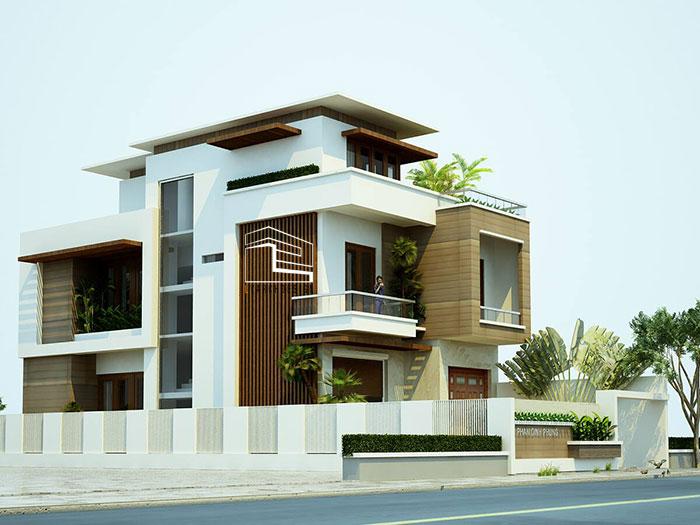 Công trình biệt thự Phan Đình Phùng TP. Quảng Ngãi