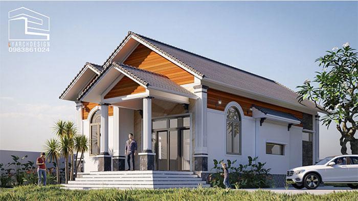 Những thiết kế nhà cấp 4 ấn tượng, được nhiều gia chủ yêu thích lựa chọn