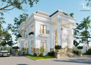 Thiết kế thi công trọn gói biệt thự Đức Nhuận Quảng Ngãi