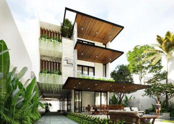 Ngắm mẫu biệt thự đẹp 3 tầng sang trọng ở Quảng Ngãi