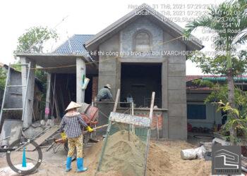 Thi công nhà cấp 4 tại Tịnh Châu - Sơn Tịnh