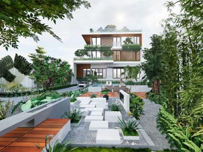Thiết kế nhà vườn Quảng Ngãi